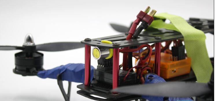 1 шт. высокий яркий светодио дный света сигнала для гоночный Дрон крест Квадрокоптер Радиоуправляемый гоночный Drone прожектора Ночная Fly 1,5 Вт 12 В JST разъем