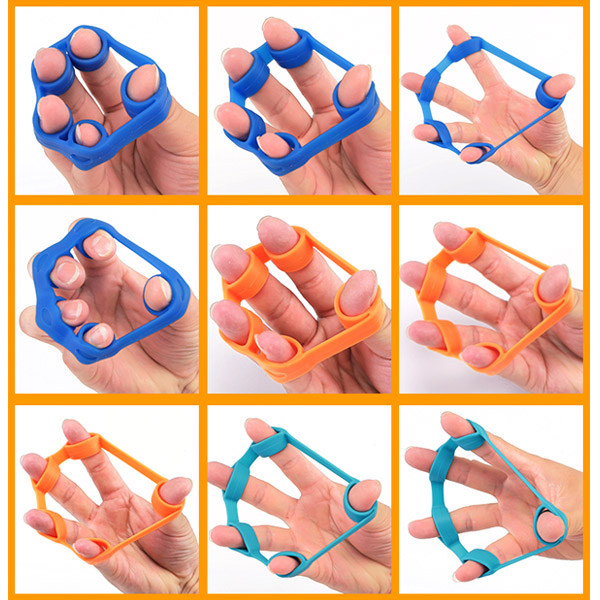 Finger Stretching Exerciser Hand Belt /& Hand Gripper Resistance Strengthener