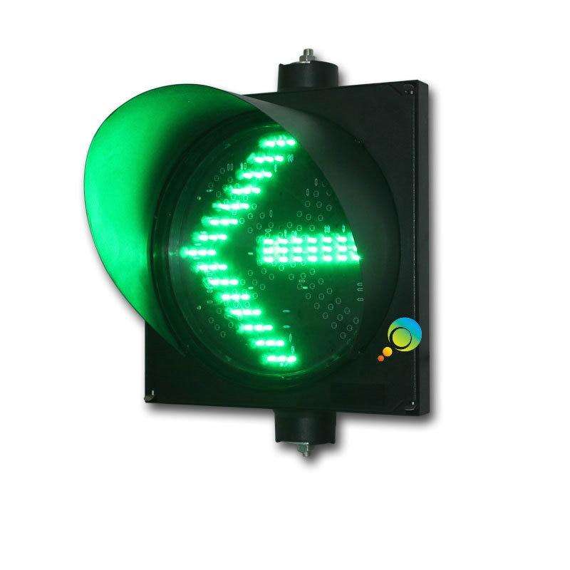 300mm High Quality Waterproof PC Housing Green Arrow Light LED Traffic Signal Light