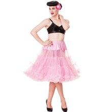 19 colors Extra fluffy  65cm Long Sexy Chiffon Petticoat girl Adult women pettiskirt tutu Women tutu Party skirt