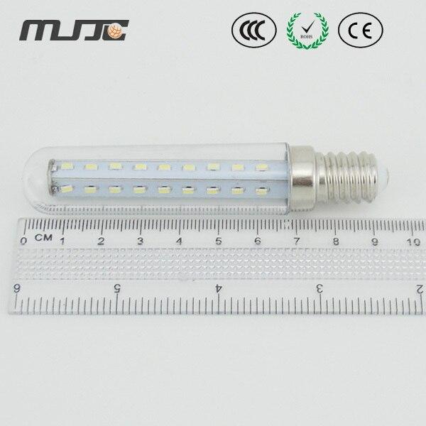 MJJC LED Corn light 10pcs/bag 4W 220V LED light bulb with LED lamp e14 and 37 leds SMD3014 for fridge/indicator/indoor lighting
