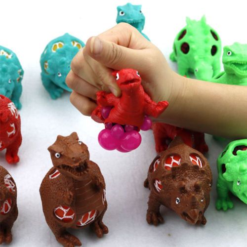 Toys & Hobbies Devoted New Anti Stress Reliever Dinosaur Ball Autism Mood Squeeze Relief Toy Kids Gift