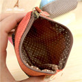 New brand Clutch Bag Women Lady Cotton & Linen Small Coin Purses Wallets Hot Card Holders bags Gift  D1029-4