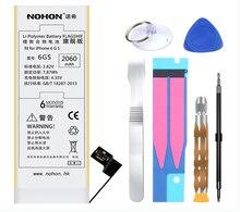 Originales NOHON Marca Reemplazo Bateria 2060 mAh Alta Capacidad de la Batería Interna de Litio con Herramientas Para El Iphone 6 S 6GS