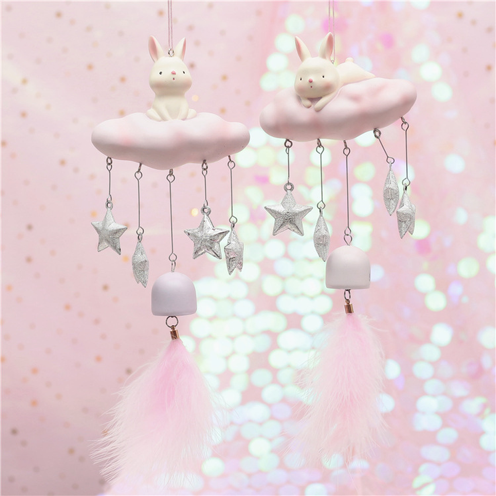 11 35cm Wind Chime Girls Room Decor Home Decoration Nordic Style Ornaments Children Student Birthday Gift Door Trim Kids Toys in Wind Chimes Hanging Decorations from Home Garden