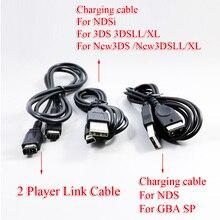 ChengHaoRanBlack 1M kabel do ładowarki usb dla konsoli nintendo kostka do gry dla obsługi NGS GS 2DS NDSi 3DS 3dsll/XL new3DS new3DSLL/XL GBA SP NDS kabel
