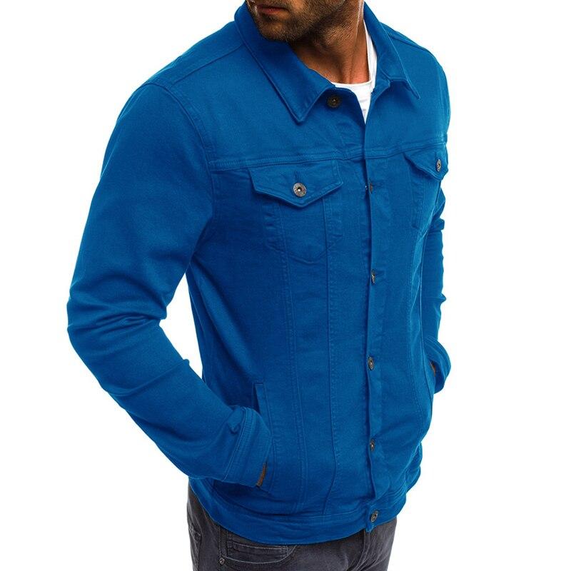 DIMUSI Spring Mens Denim Jacket Fashion Male Jeans Jackets Slim Fit Casual Streetwear Vintage Men Jean Outwear Clothing.TA325 4