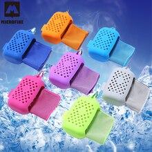 Microfine Cooling Towel Тренажерный зал Спорт Путешествия Утилита для рук Выносливое лицо
