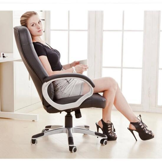 Quality Ergonomic Swivel Office Chair Computer Chair Home Ergonomic Leisure Lifting Super Soft Boss Chair Colorful Cadeira
