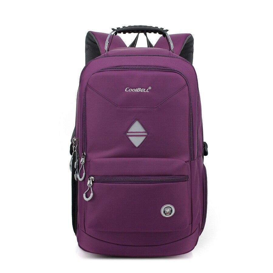 ФОТО CoolBell Brand 2016 Hot Selling Waterproof 15.6 17.3 17.6inch Men Women Laptop Backpack Outdoor Traveling Backpacks School Bags