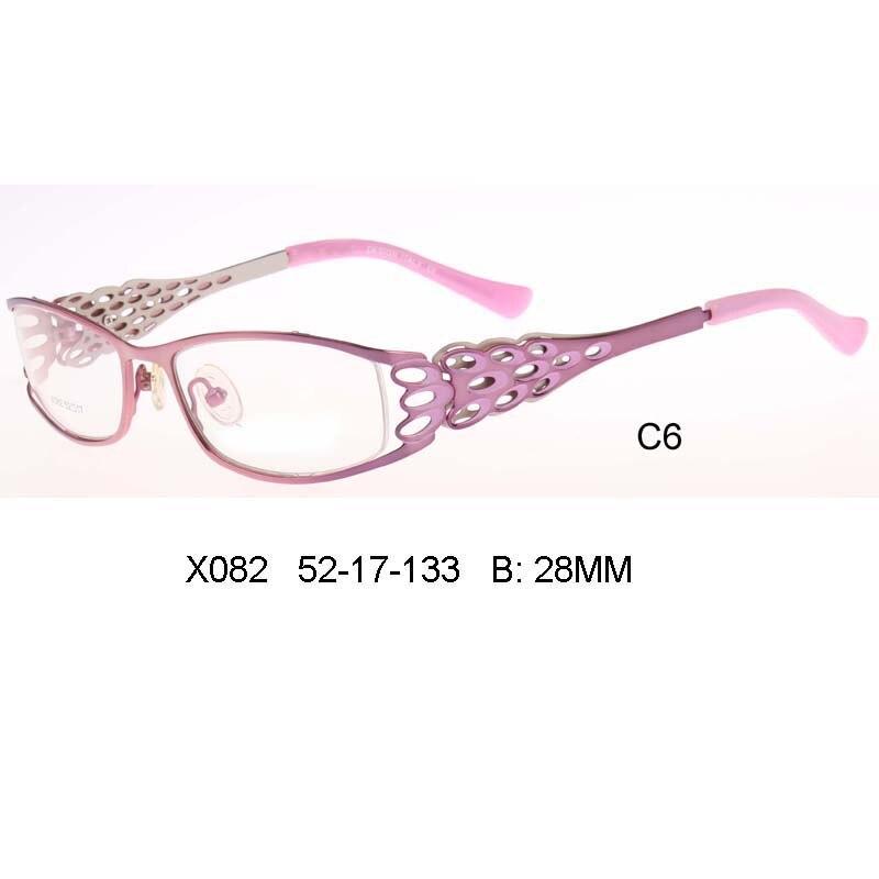 6a2ddd9cf79 Fashion pink color blue Peacock feather vintage for optical prescription  eyewear Women Eyeglass Beautiful Glasses Women quadros
