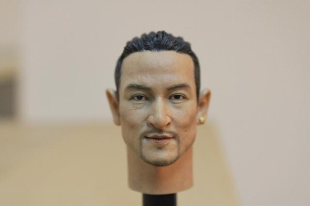 1/6 scale figure doll head shape for 12 Action figure doll accessories Jacky Cheung head, not include body and clothes