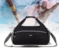 High quality brand travel bag fitness swimming bag ladies shoulder diagonal handbag yoga bag dry and wet separation function