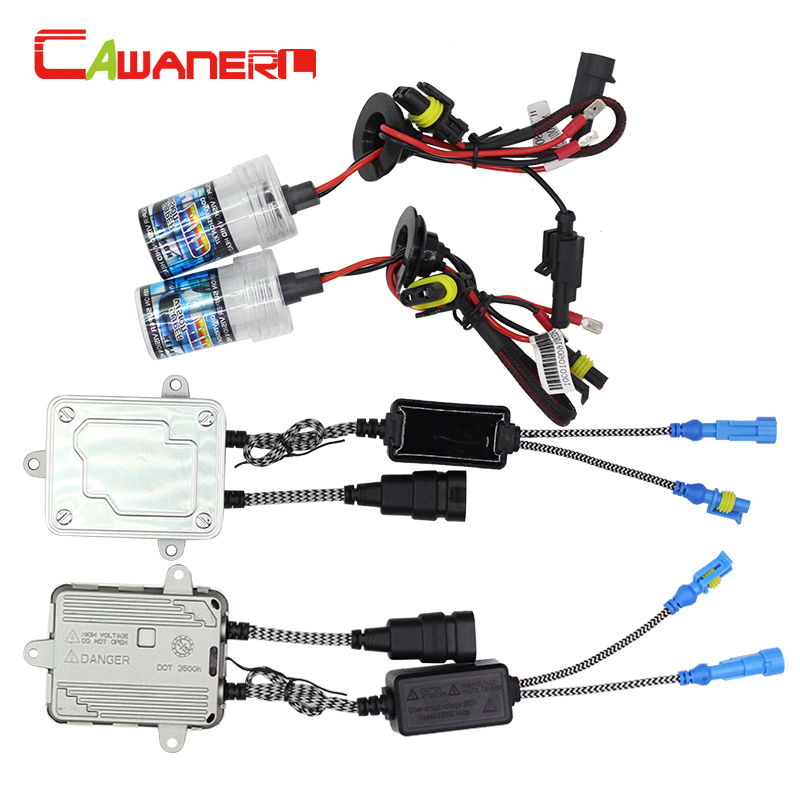 Cawanerl 55W 9006 HB4 Replacement HID Xenon Kit Bulb AC Ballast 3000K 4300K 6000K 8000K 10000K 12000K Car Headlight Fog Light 55 wsilver hid xenon kit slim ballast h11 8000k replacement headlight spare bulb [cpa226]