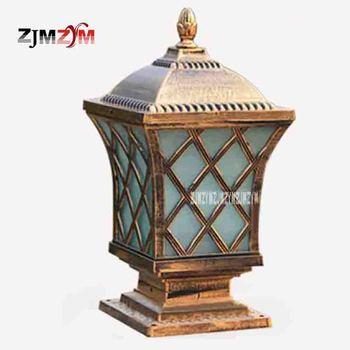 Hohe Qualität Europäischen-stil, Mode, FÜHRTE Wand Licht Außen Beleuchtung Wasserdichte Licht Garten Villa Tür Säule Lampe 220 v (235*235)