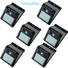 Uniquefire 6 Pack 20 LED Outing Bright Solar Light Solar Powered Motion Lights For Garden Patio
