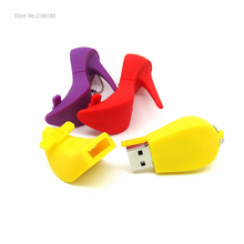USB Flash Drive High-heeled shoe 4GB/8GB/16GB/32GB PenDrive