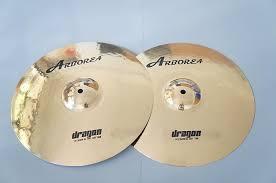 Arborea Cymbals Dragon Series B20 15'' Hi-Hats 100% Handmade for Pop and Rock 1