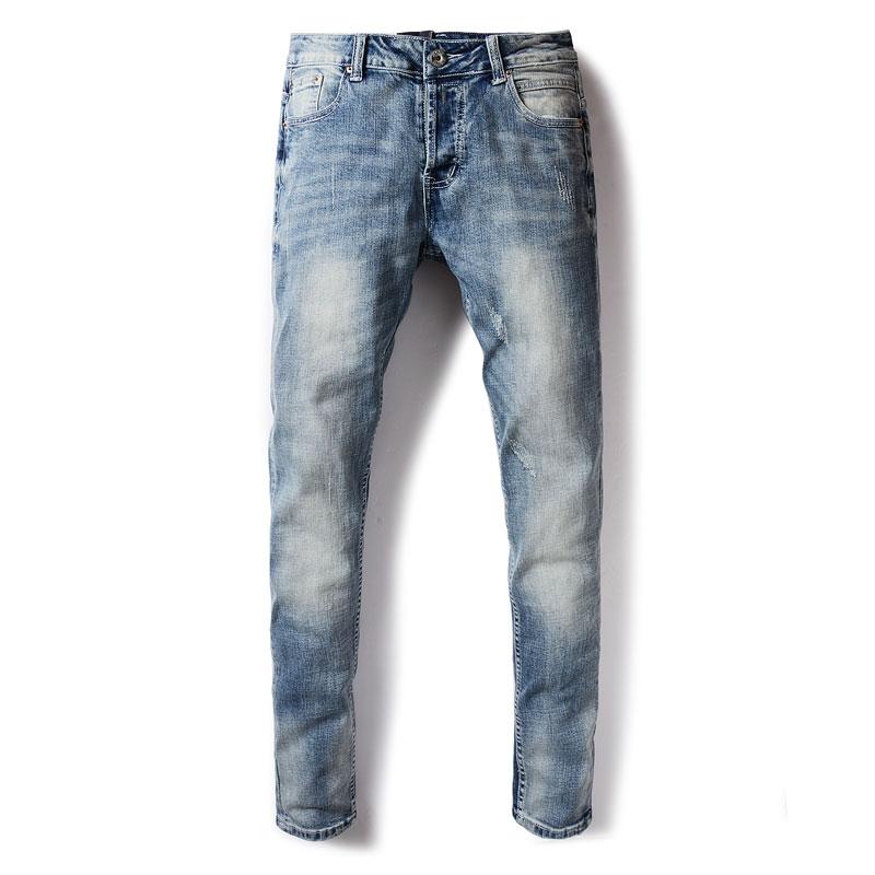 2017 Famous Original Dsel Brand Men   Jeans  ,Blue Straight Denim Button Fly   Jeans   Men,High Quality Men Pants!602