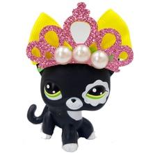 pet shop lps toys Lovely Rare Black Cat Blue Eyes Kitten 2249 Figure