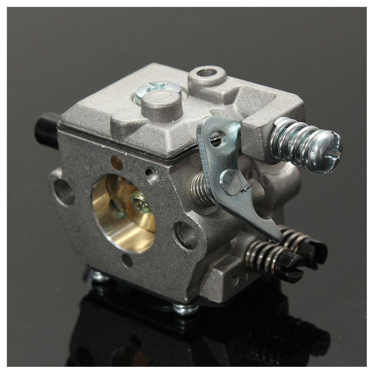 TOLYLE Carb Carburateur Pour STIHL 025 023 021 MS250 MS230 Zama Tronçonneuse Walbro Remplacer Argent