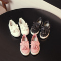 Ребенок обувь одного девочек Fahsion обувают 2016 весенние / дети обувь кисточкой свободного покроя принцесса обувь