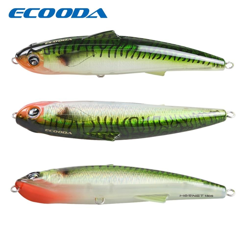 Ecooda Fishing Hard Bait Big Lure For kingfish /tuna 82g 180mm Minnow <font><b>Floating</b></font> Saltwater Crankbait Fishing Tackle Pescaria