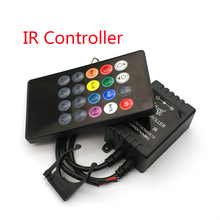 20 Keys Music Voice Sensor Controller Sound IR Remote Control Practical Home Party RGB 3528 5050 LED Strip light RGB Controllers