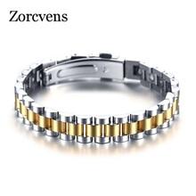 ZORCVENS 99.999% Pure Germanium Bracelet for Women Korea Popular Stainless Steel Health Magnetic Germanium Energy Power Jewelry