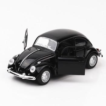 1 36 zabawka samochód stary Beatle metalowa zabawka Alloy Car Diecasts i pojazdy zabawkowe Model samochodu Model w miniaturowej skali samochody zabawkowe dla dzieci tanie i dobre opinie CN (pochodzenie) 3 lat Inne No Eating Model Mini Pull Back