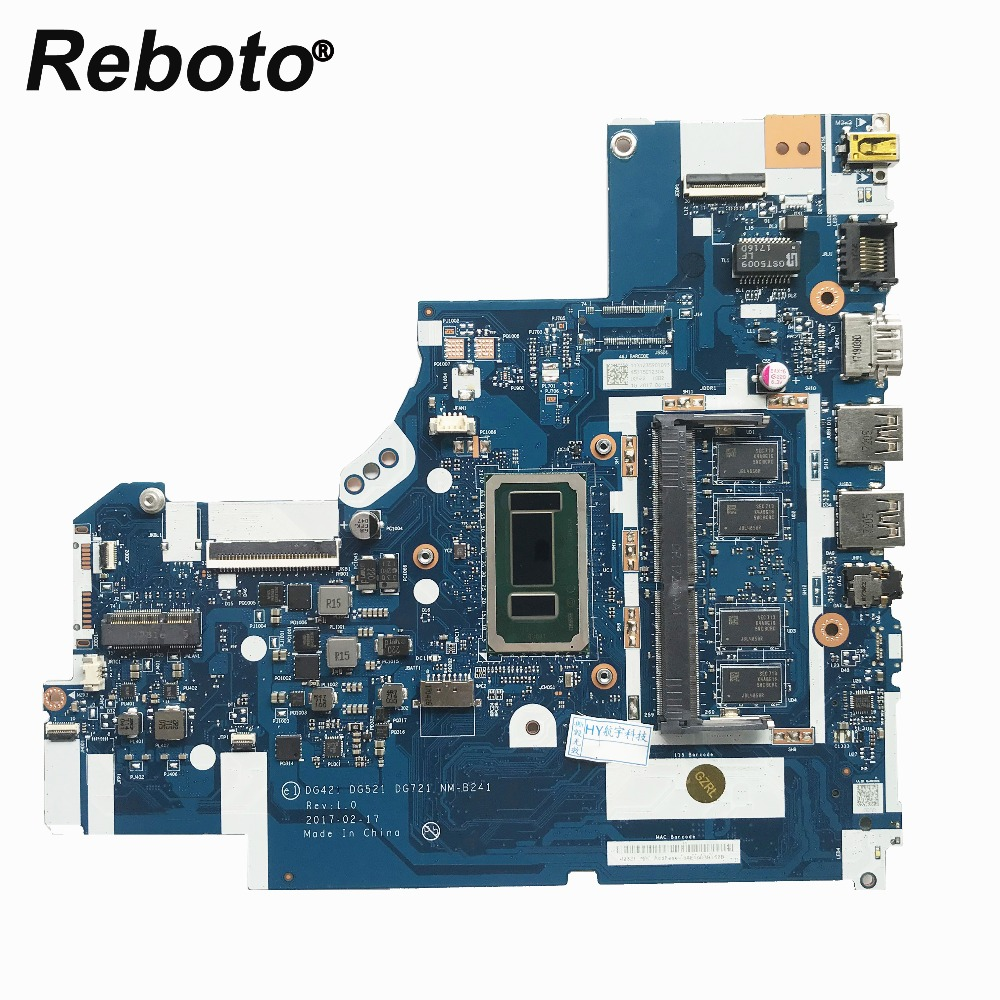 Reboto For Lenovo 320-15isk Laptop Motherboard With i3-6006u 2.0GHz CPU 4GB RAM DDR4 DG721 NM-B241 MB 100% Tested Fast Ship