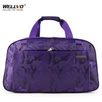 Large Traveling Duffel Bag Camouflage Luggage Handbag Women's Travel Handbags Women Portable Waterproof Bags For Female XA3C