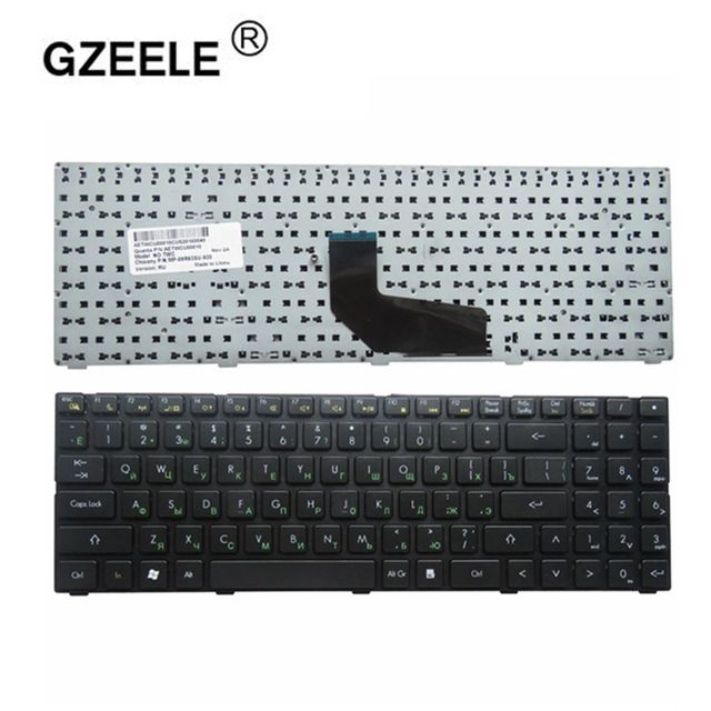 russian laptop Keyboard for DNS TWC K580S i5 i7 D0 D1 D2 D3 K580N TWH K580C K620C AETWC700010 MP 09R63SU 920 RU Black NEW