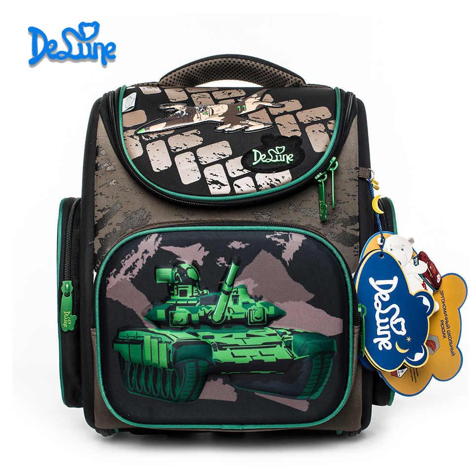 ea3ed9edf03a Новинка 2018 года бренд 1 Обувь для мальчиков камуфляж школьная сумка 3D  танк войны узор водостойкий