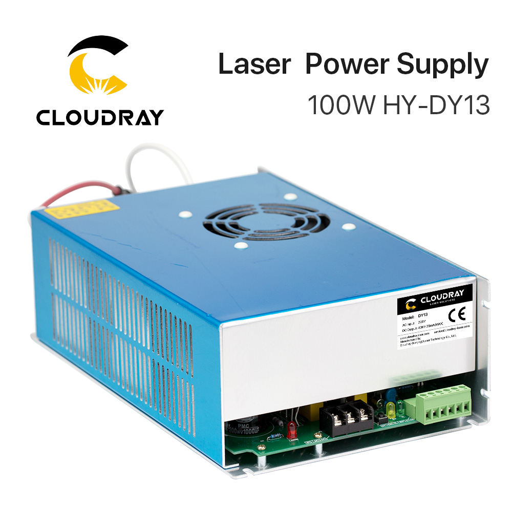 Cloudray DY13 Co2 alimentación láser para RECI Z2/W2/S2 Co2 tubo láser máquina de grabado/corte serie DY