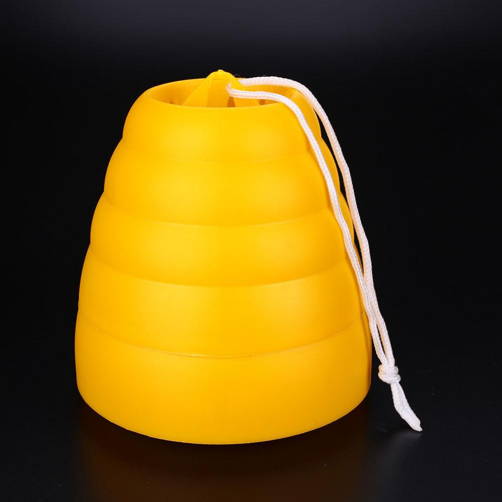 Outdoor Flying Hanging Wasp Trap Fly Bug Pot Traps Catcher Poison Free