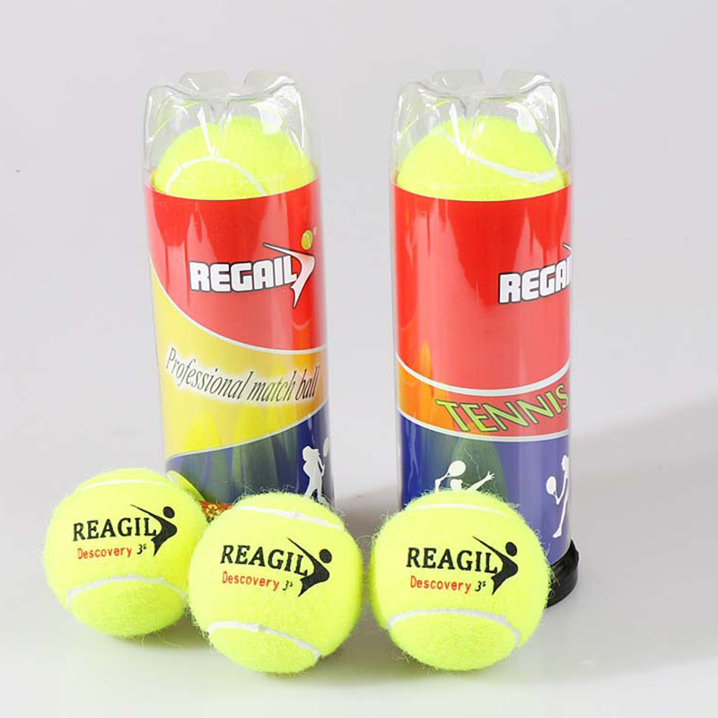 3pcs Tennis Balls Professional Sports Accessories Replacement Übungs Practice Beginners Set Nützlich