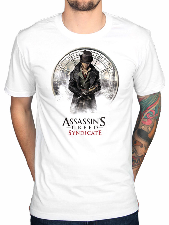 Design t shirt vistaprint - 2017 Latest Men S Fashion Assassins Creed Syndicate Jacob T Shirt Chronicle Rogue Unity Identity Design T Shirt Summer Cool