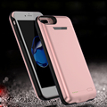 3000/4200mAh External Power bank Pack backup battery Charger Case For iPhone6 / 6sPlus  with tempered glass film USB line