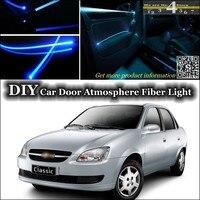 For Chevrolet Classic interior Ambient Light Tuning Atmosphere Fiber Optic Band Lights Door Panel illumination (Not EL light)