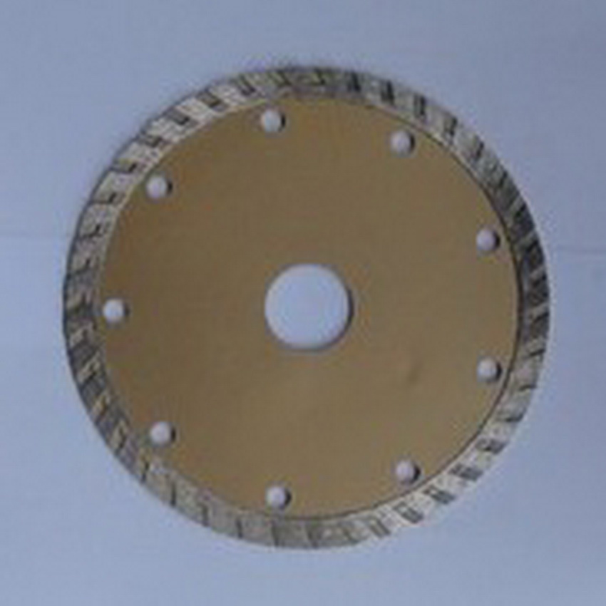 Free Shipping Of 1PC 180mm/230mm Cold Sintering Diamond Turbo Segmented Saw Blades  For Cutting Marble/granite/tile/cutting
