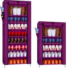 The new combination of simple non-woven dust shoe storage rack Specials
