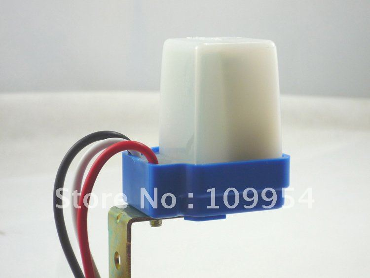Outdoor Light Sensor Control Street Lamp Automatic Switch Auto Operated 10a 220v
