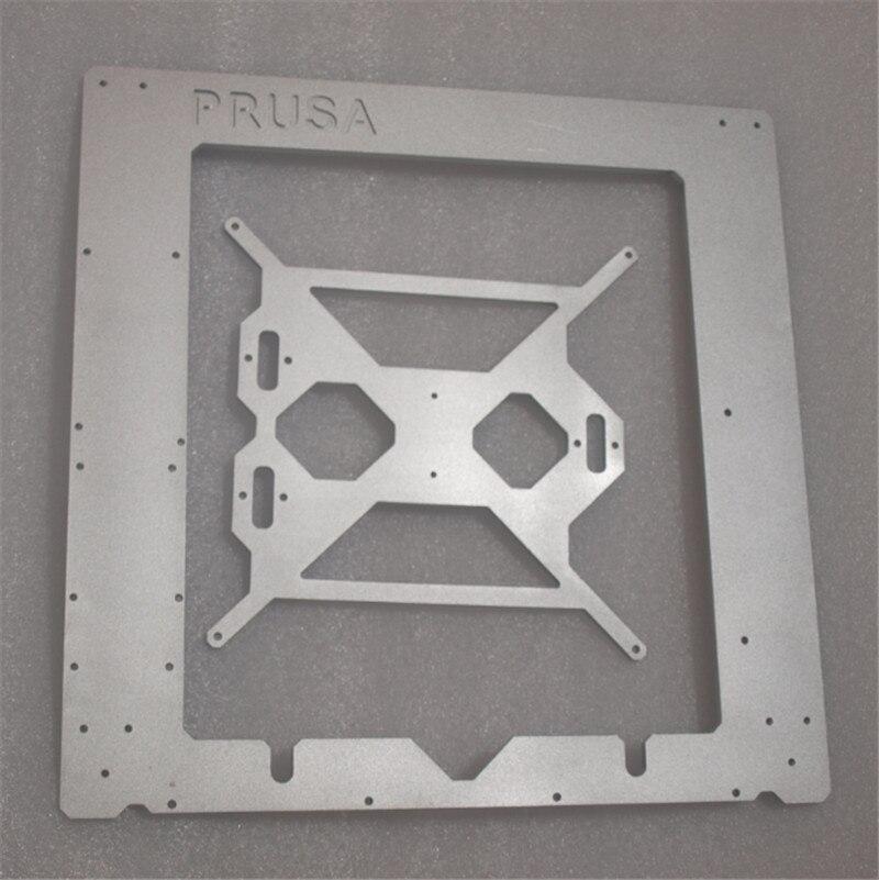 Funssor Reprap Prusa i3 MK2 clon Marco de color plata de marco de aluminio de 6mm de espesor hecho por CNC-in Accesorios y partes de impresoras 3D from Ordenadores y oficina on AliExpress - 11.11_Double 11_Singles' Day 1