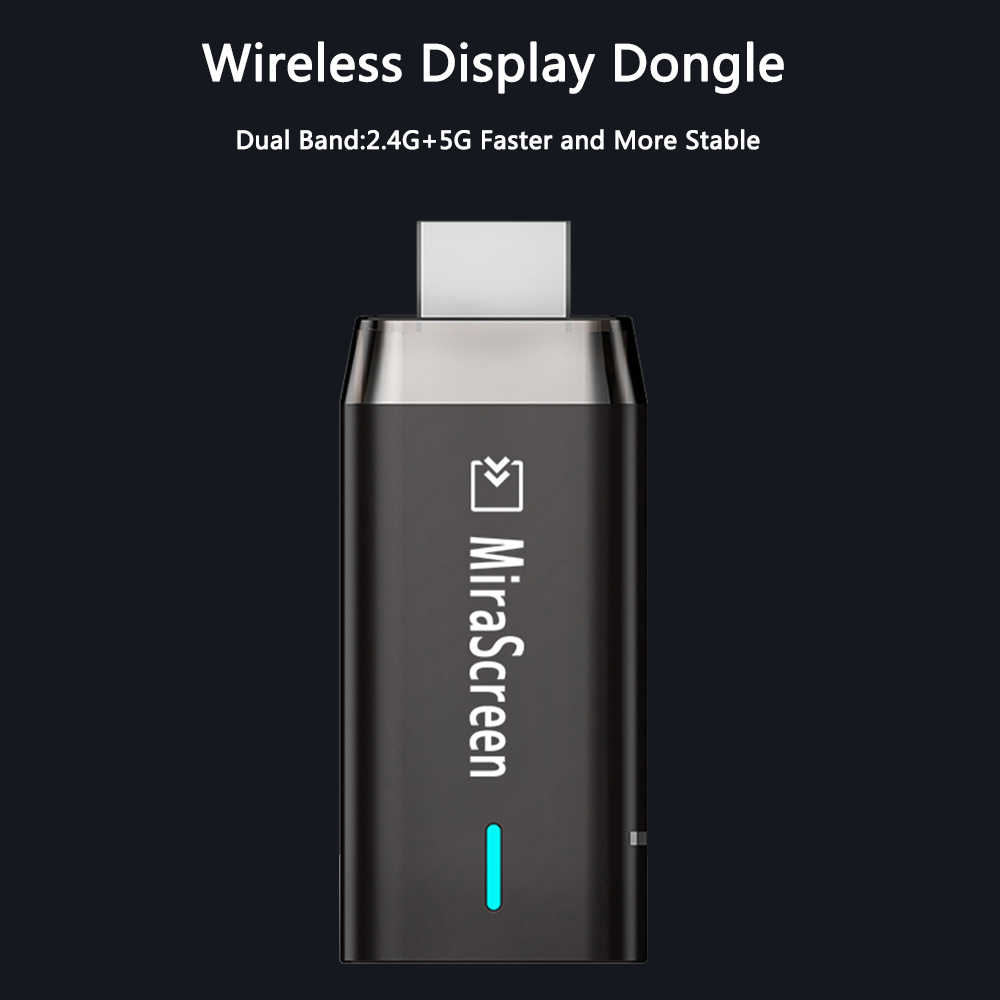 Mirascreen D8 Wifi 2.4G/5G Display TV Stick Dongle 1080P 4K HD EZCast Miracast Airplay mirroring Naar Hdtv Voor Telefoon Ios Android