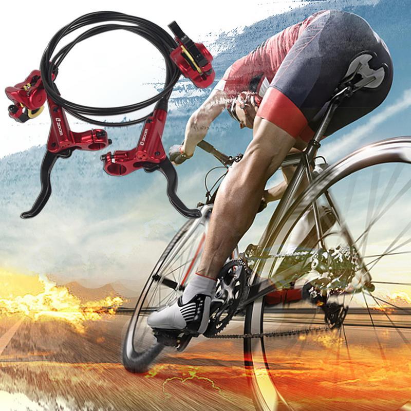 1 paire de Kit de frein hydraulique de route de montagne chaude 750/1350 Mm vtt vélo plus de 395/447 ensemble de frein à disque d'huile pièces de vélo avant et arrière