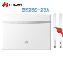 Desbloqueado Huawei B525 B525S-23A Cat6 4g LTE Mobile Hotspot Gateway 4g LTE CPE Router Wi-fi Dongle Wireless Router além de Antena(China)
