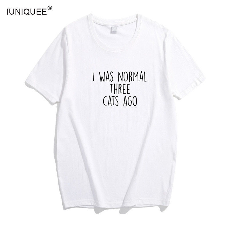 I Was Normal Three Cats Ago New T-Shirt