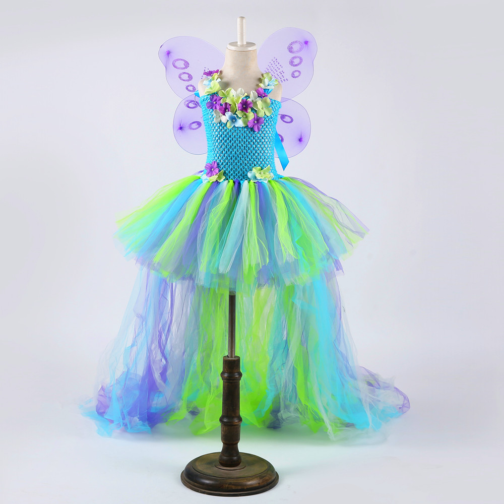 Flower Princess Tinkerbell Fairy Dress Vintage Ball Gown for Teenager Girls Birthday Wedding Evening Birthday Tutu Dress ClothesFlower Princess Tinkerbell Fairy Dress Vintage Ball Gown for Teenager Girls Birthday Wedding Evening Birthday Tutu Dress Clothes