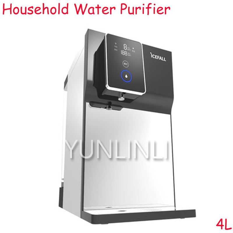 4L Household Direct Drinking Water Purifier Desktop Fast Heating & Filter Free-Installation RO Reverse Osmosis Purifier YR100-A